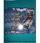 BATMAN Pinball Machine Game Original Sales Promotional Flyer