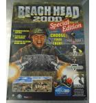 Beach Head 2000 Special Edition Original Video Arcade Machine Game Advertising Promotional Poster #882 for sale - Tsumo - NOS