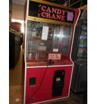 "CANDY CRANE ""PLAY TILL YOU WIN"" Arcade Machine Game for sale - EXTRA WIDE - with BILL ACCEPTOR"