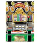 Casino Slot Machines Room Roll Party Wall Decoration, Vinyl, 4' x 40' - 50 FEET LONG - INDOOR or OUTDOOR USE!
