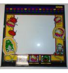DIG DUG Arcade Machine Game Monitor Bezel Artwork Graphic GLASS for sale #X45