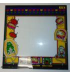 DIG DUG Arcade Machine Game Monitor Bezel Artwork Graphic GLASS for sale #X46