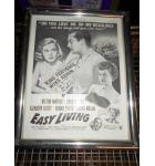 Easy Living 1949 Movie Promotional Framed Poster from Saturday Evening Post Art Print Wall Decor for sale - Victor Mature, Lucille Ball