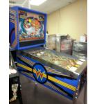 LASER CUE Pinball Machine Game for sale by Williams - Billiards - Outer Space - Fantasy