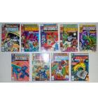 MICRONAUTS COMIC BOOKS LOT - ISSUES #22 through #30 for sale