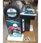 MADDEN CONVERSION PEDASTAL Arcade Machine Cabinet with 2 JOYSTICKS & COIN DOOR for sale
