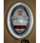 Michelob Light All Imported Hops Neon Digital Clock by Grimm Ind. for sale