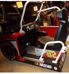 "NASCAR TEAM CHALLENGE 42"" Non-Motion Arcade Machine Game for sale"