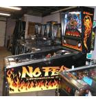 NO FEAR: DANGEROUS SPORTS Pinball Machine Game for sale by Williams - LED UPGRADE
