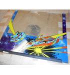 OMEGA RACE Arcade Machine Game Backglass Backbox Artwork