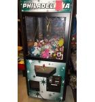 PHILADELPHIA PLUSH Crane Arcade Game Machine for sale