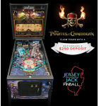PIRATES OF THE CARIBBEAN LE Pinball Machine Game for sale by Jersey Jack Pinball