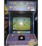 SIMPSONS BOWLING Upright Video Arcade Machine Game for sale by KONAMI