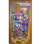 STERN BATMAN '66 Pinball Machine Game Playfield Production Reject #3950 for sale