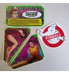 STERN GHOSTBUSTERS Pinball Machine Game LEXAN APRON Decal Set for sale