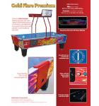 SHELTI GOLD STANDARD GOLD FLARE PREMIUM Air Hockey Table - COIN-OP