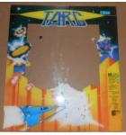 TARG Arcade Machine Game PLEXIGLASS Marquee Bezel Artwork Graphic #1177 for sale