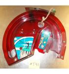 TEE'D OFF Pinball Machine Game RAMP with DECALS by GOTTLIEB