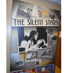 The Silent Stars - Pola Negri, Douglas Fairbanks, Rudolph Valentino, Gloria Swanson, Charlie Chapin, Mary Pickford, The Keystone Kops for sale - Art print canvas Wall hanging - HUGE