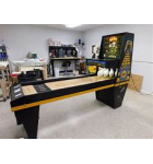WILLIAMS GOLD MINE Puck Bowler Shuffle Alley Arcade Machine Game for sale