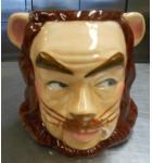 Wizard Of Oz Cowardly Lion Hand-Painted Ceramic Giant 27 Oz. Coffee or Tea Mug by Star Jars 1998