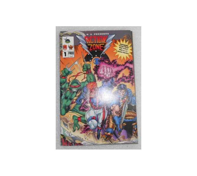 ACTION ZONE #1 COMIC BOOK for sale