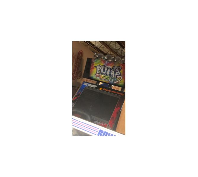 ANDAMIRO PUMP IT UP 2 FIESTA Arcade Machine Game for sale