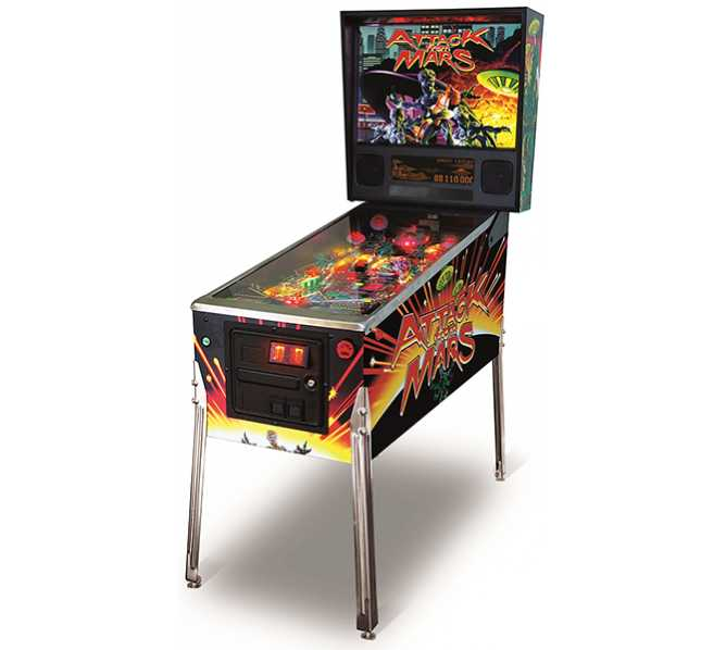 ATTACK FROM MARS CE Pinball Machine Game for sale