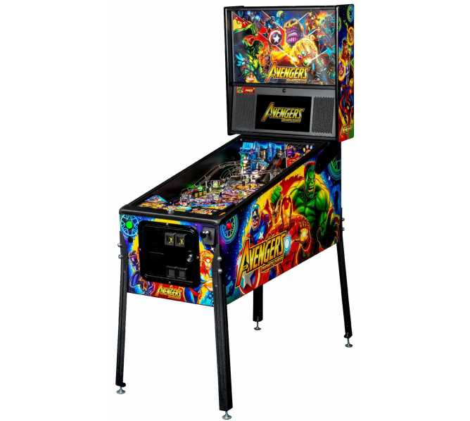 STERN AVENGERS INFINITY QUEST PRO Pinball Game Machine for sale