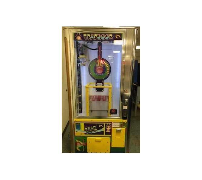 BENCHMARK TRAP DOOR Plush Merchandiser Redemption Arcade Machine Game for sale