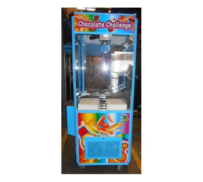 CHOCOLATE CHALLENGE Arcade Machine Game for sale by COASTAL - REFRIGERATED