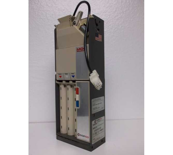 COINCO 9302-GX 9302GX 24V MDB 3 Tube Coin Mech Changer Acceptor Mechanism. Direct Up Grade for the Mars TRC 6510, Interchangeable with Mars TRC 6512
