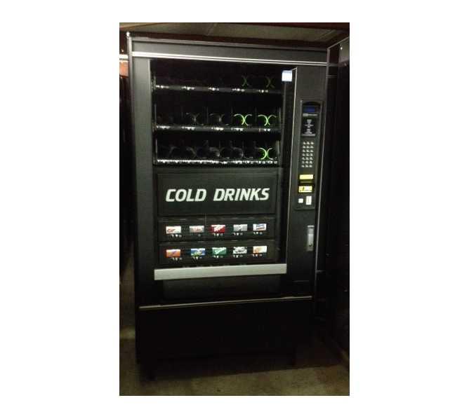 CRANE 497 Refreshment Center 4 COMBO Snack & Soda Vending Machine for sale