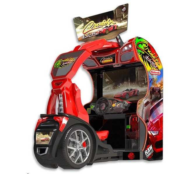 CRUIS'N BLAST Sit-Down Arcade Machine Game for sale by Midway - NEWEST HOTTEST DRIVING GAME