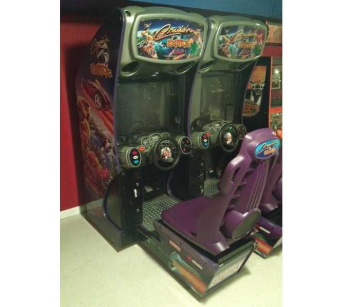 CRUIS'N EXOTICA Sit-Down Arcade Machine Game for sale - 2 SEATS