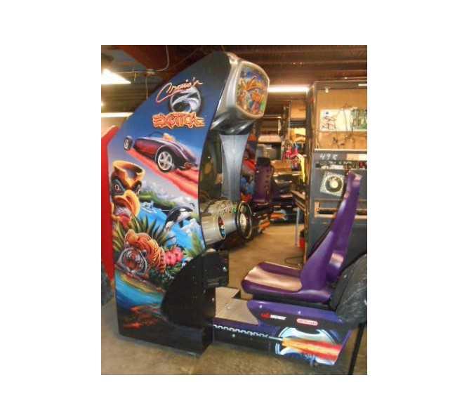 CRUIS'N EXOTICA Sit-Down Arcade Machine Game for sale