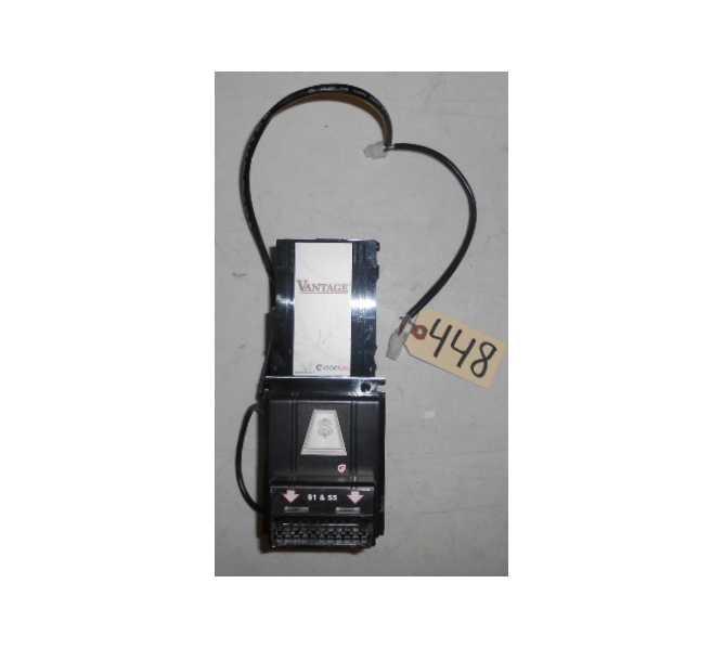 Coinco Vantage Model VX63B45US02 24V / 34V  MDB $1 / $5 / $10 / $20 Bill Validator Acceptor Changer DBA  for sale