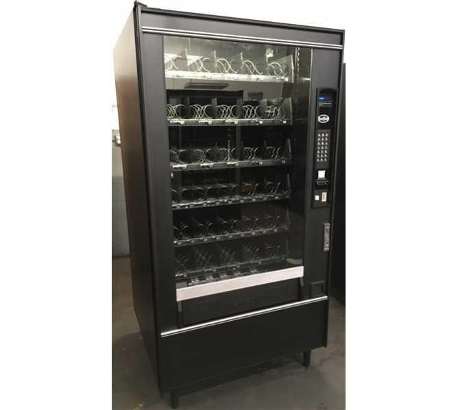 Crane National Vendors Crane Merchandising Systems CMS 167 Snack Center 1 Glass Front Vending Machine for sale