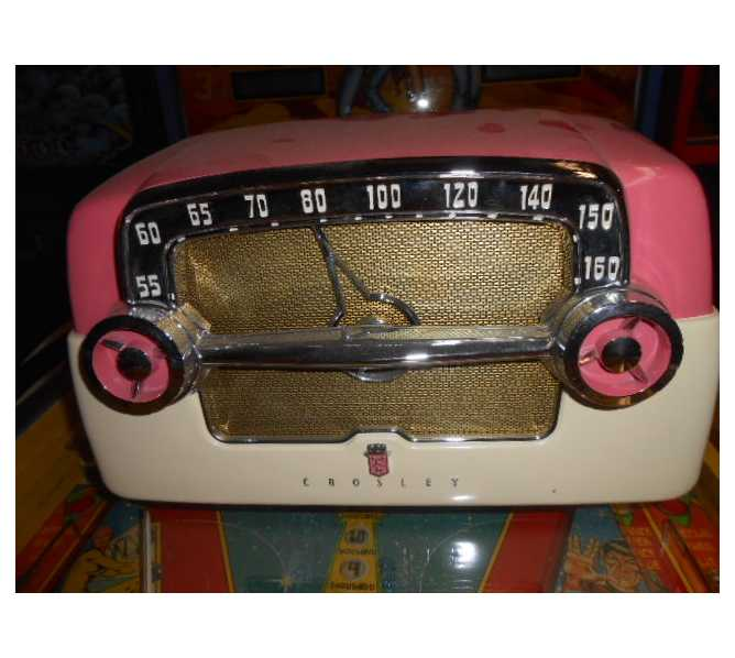 Crosley Model E75 Vintage Collectible Radio from 1953 - FREE