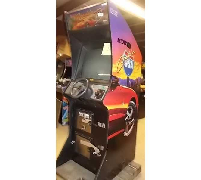 CRUIS'N USA Upright Arcade Machine Game by MIDWAY