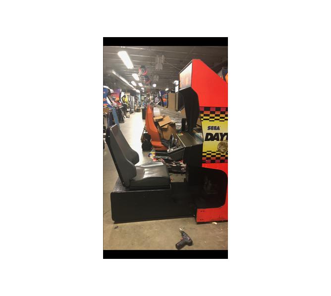 DAYTONA USA Sit-Down Arcade Machine Game for sale by SEGA