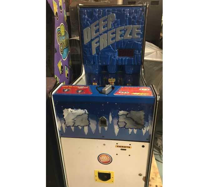 DEEP FREEZE Ticket Redemption Arcade Machine Game for sale