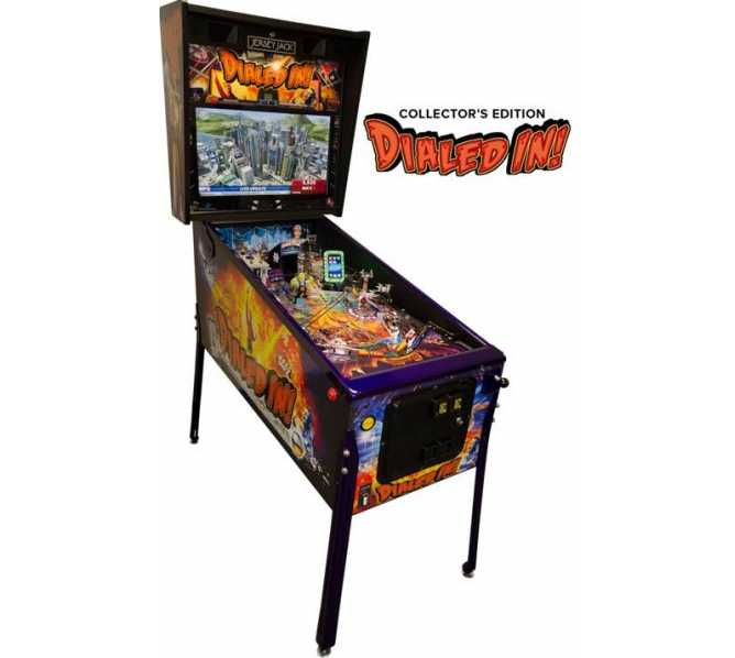 JERSEY JACK DIALED IN! Collector's Edition Pinball Game Machine for sale