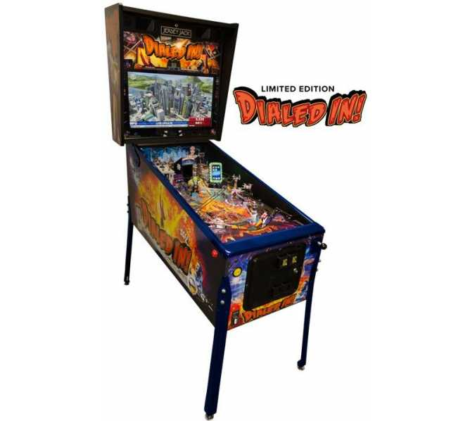 JERSEY JACK DIALED IN! Limited Edition Pinball Game Machine for sale