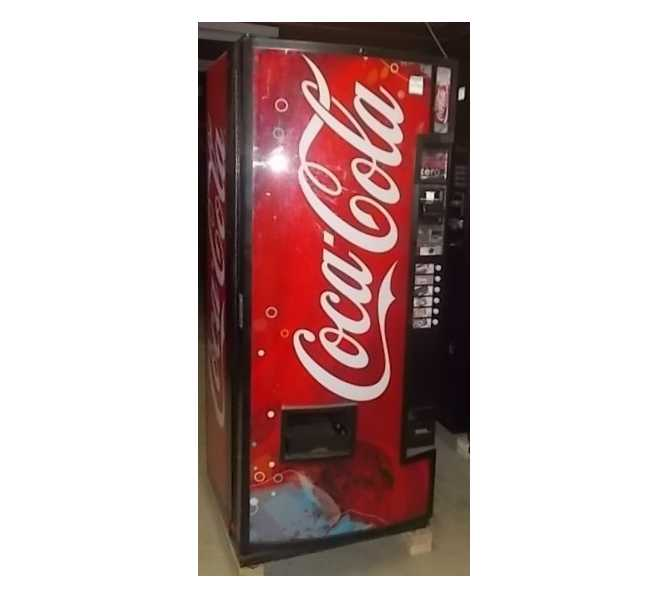 DIXIE NARCO DN 240CC/168 Canned SODA Cold Drink Vending Machine for sale