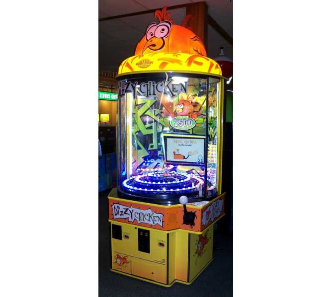 DIZZY CHICKEN Ticket Redemption Arcade Machine Game for sale