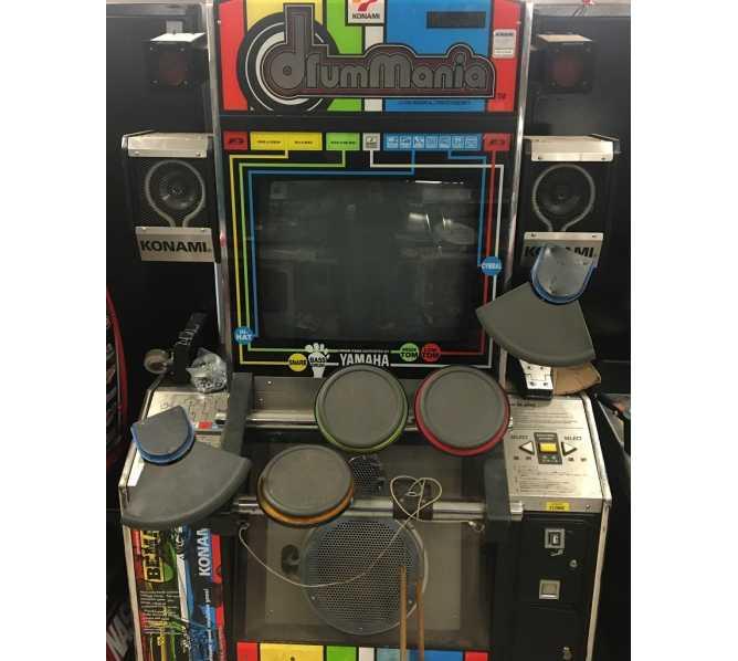 DRUMMANIA Arcade Machine Game for sale