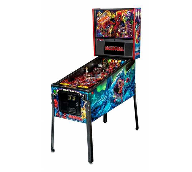 STERN DEADPOOL PREMIUM Pinball Game Machine for sale