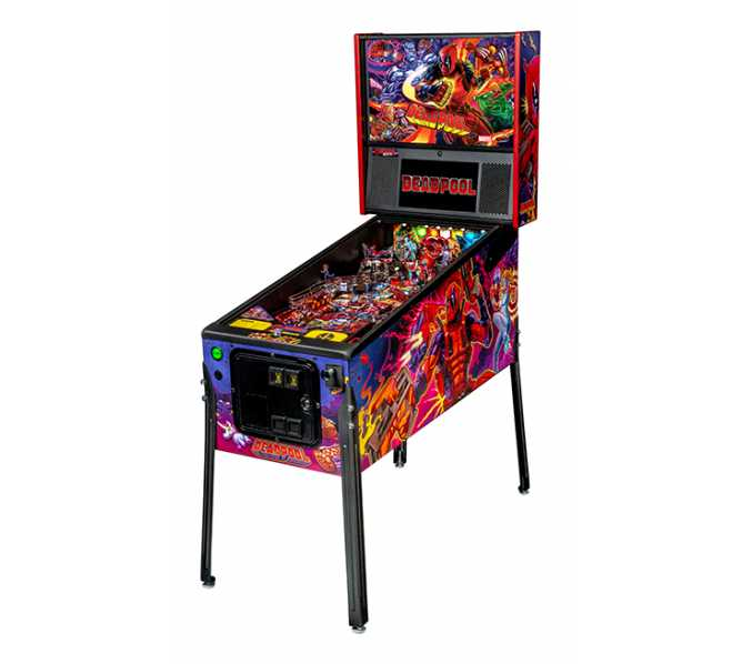 STERN DEADPOOL PRO Pinball Game Machine for sale