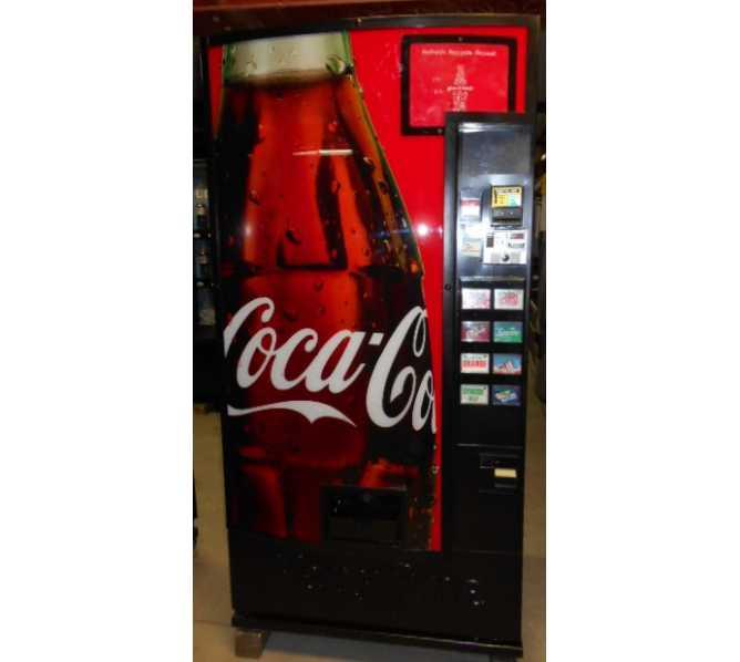 Dixie Narco DN 368/501 MPC 8 SELECTION Can SODA Vending Machine